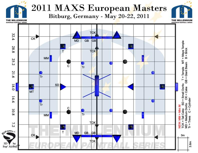 Опубликована схема поля на 3й